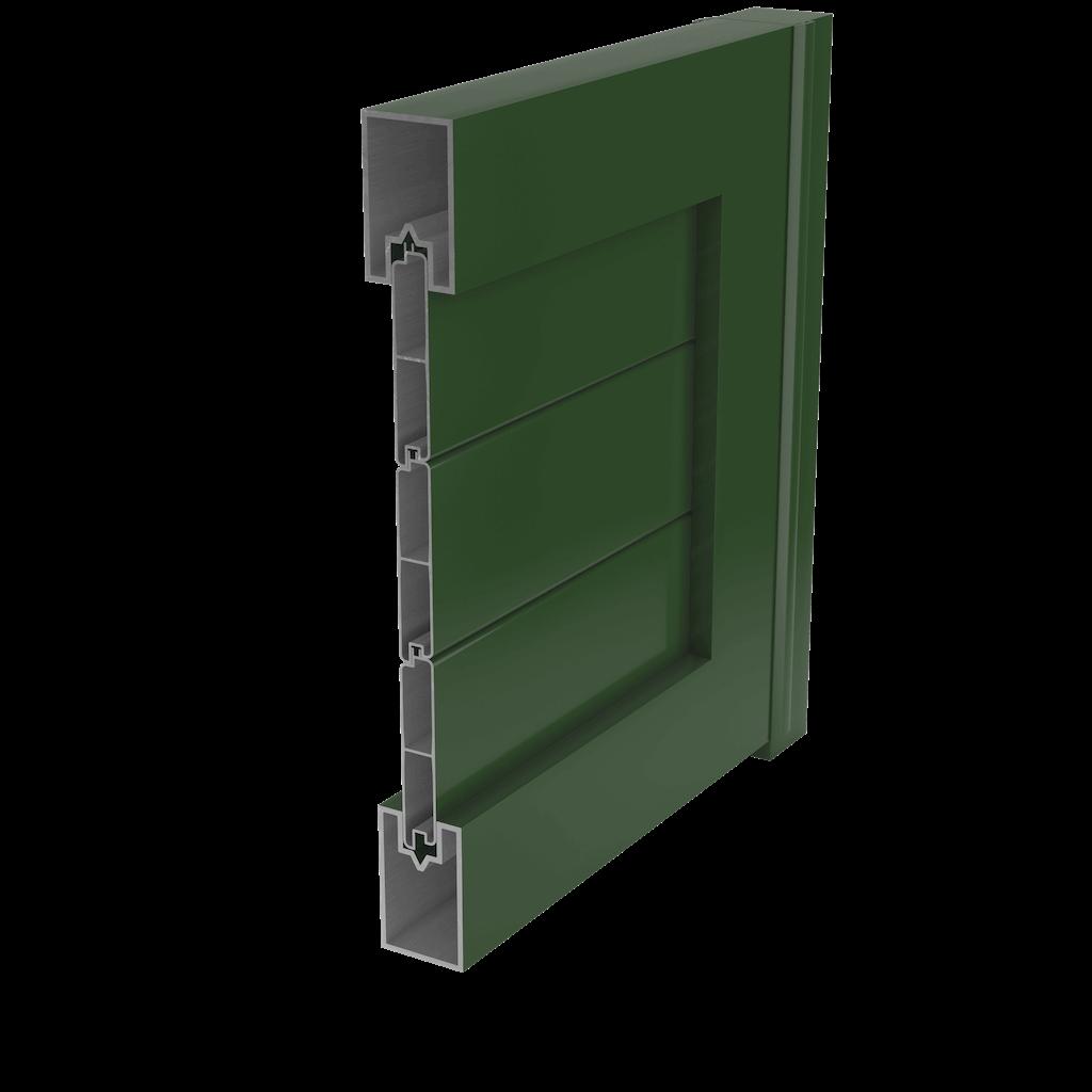 Puerta aluminio soldado sistemas de puerta