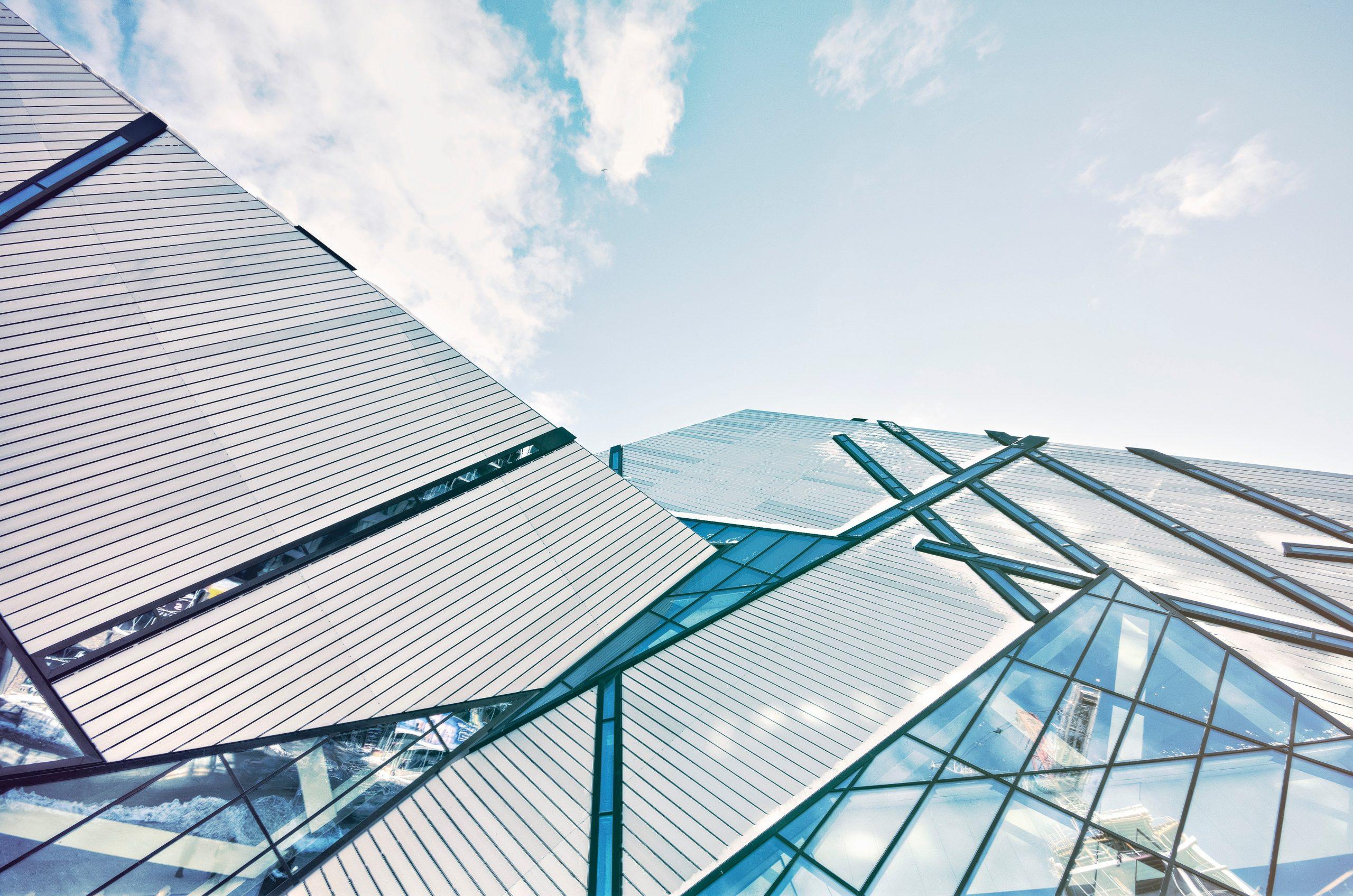 edificio de cristal Carpintería PVC