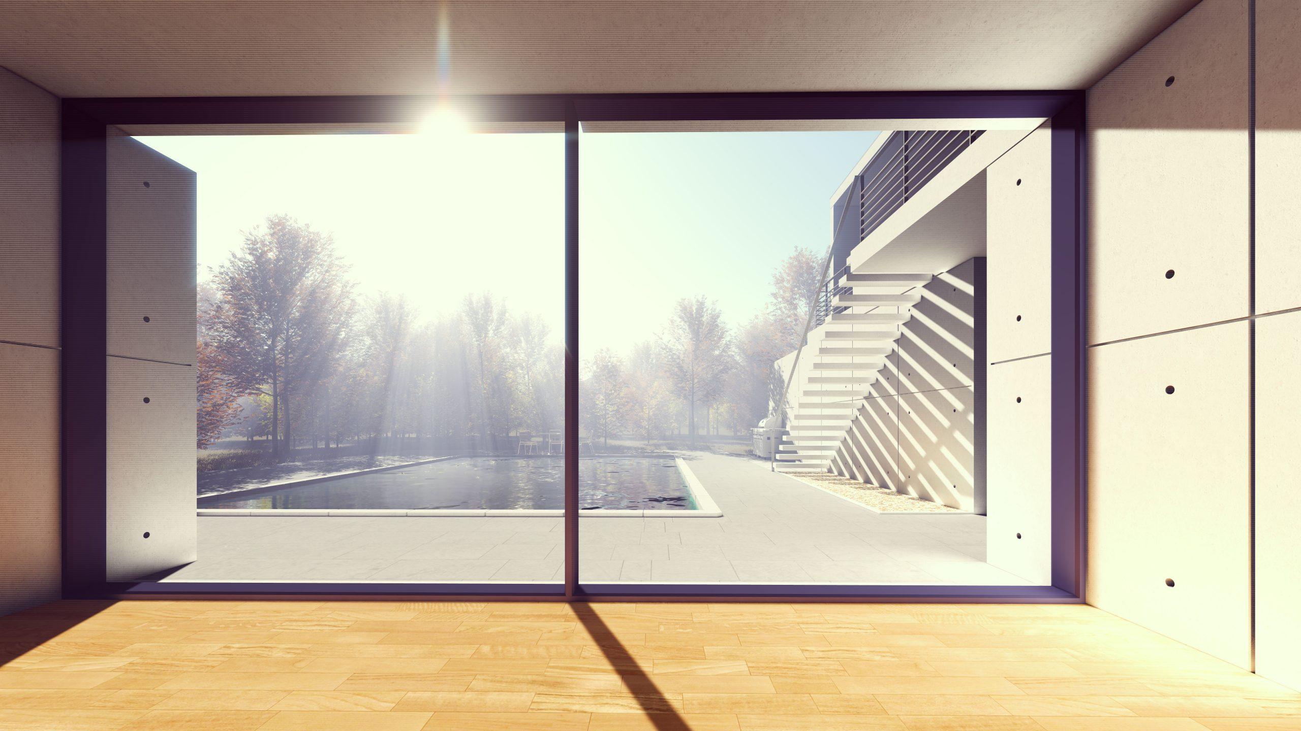 ventana fabricada Carpintería PVC